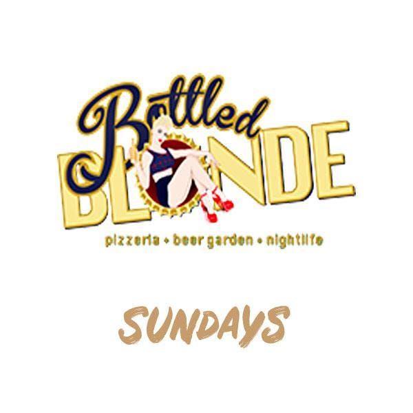 Sundays at Bottled Blonde Free Guestlist - 9/