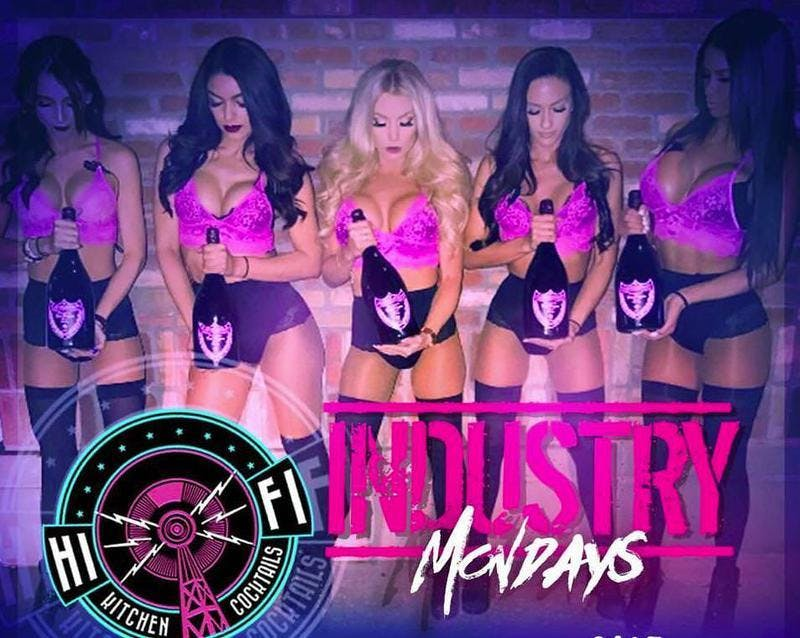 Industry Mondays at Hi Fi Free Guestlist - 9/