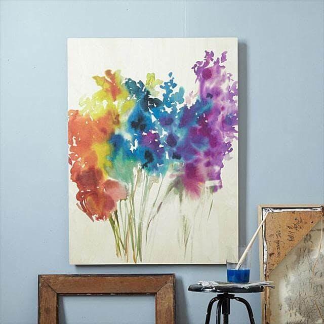 Watercolor Canvas
