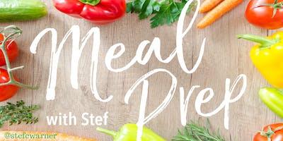 Meal-Prep Workshop Date Reservation (Saturdays)