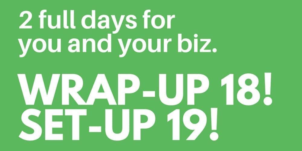 Wrap Up 18 Set Up 19