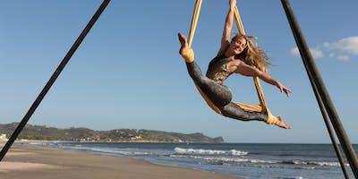 CircAsana Aerial Yoga Teacher Training,  Isla Bastimentos, Panama