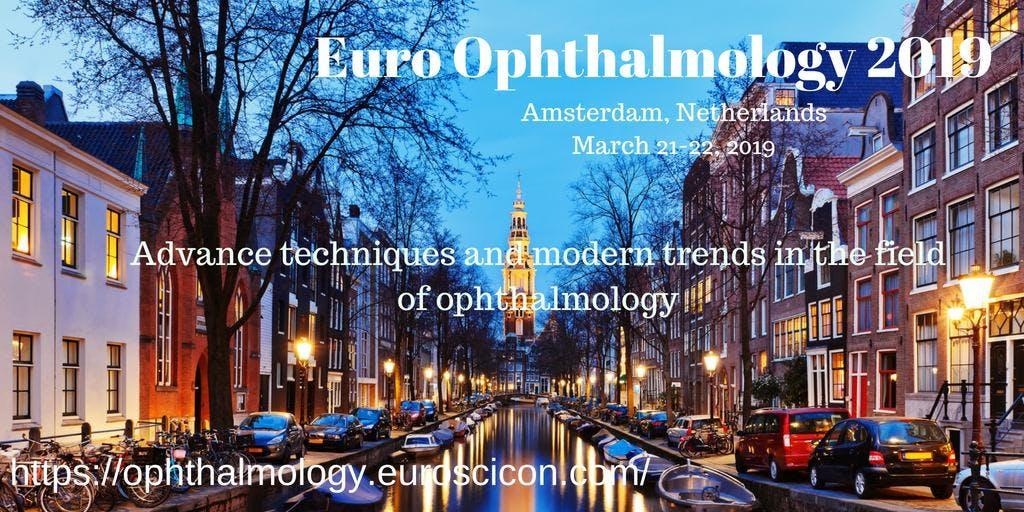 Euro Ophthalmology 2019