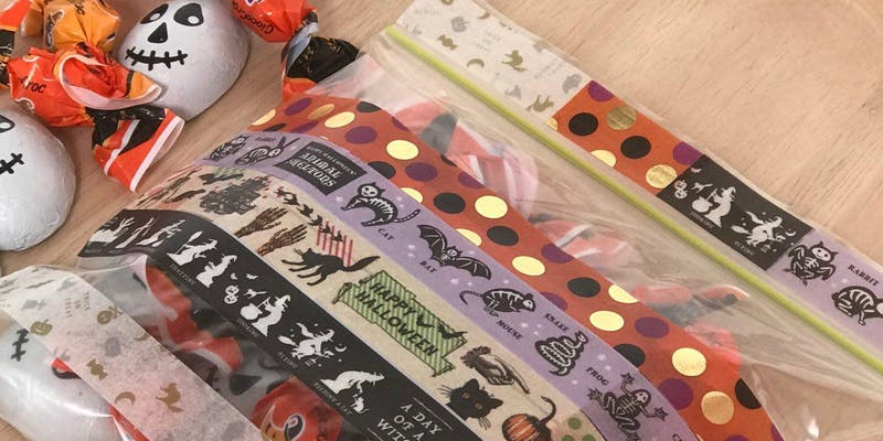 Workshop: Halloween Parties with MT Masking Tape!