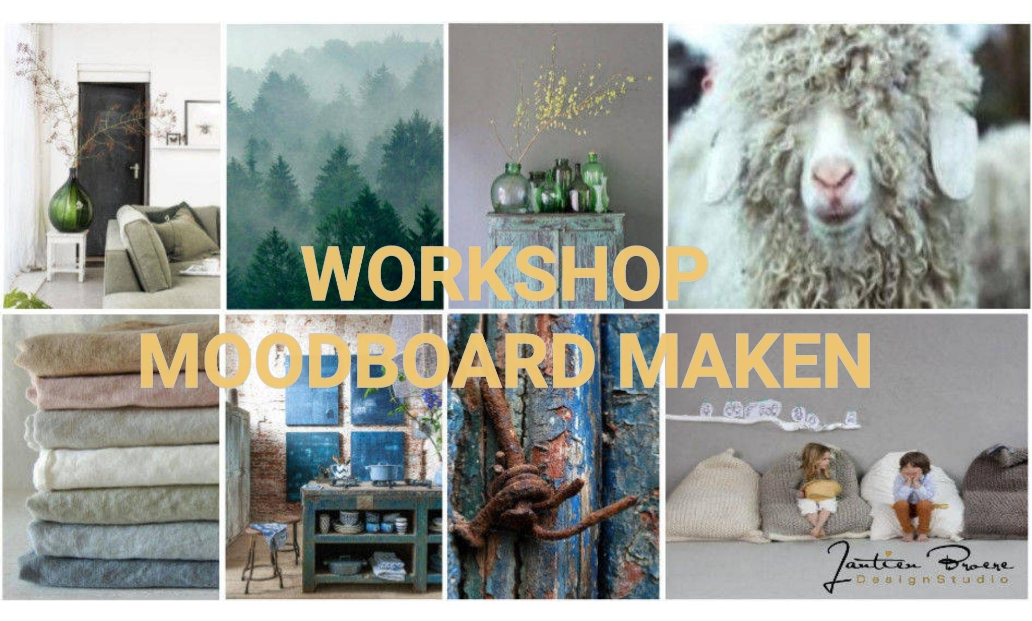 workshop interieur moodboard