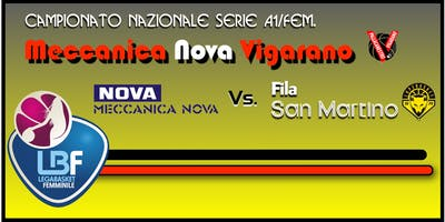 Meccanica Nova Vigarano vs Fila San Martino