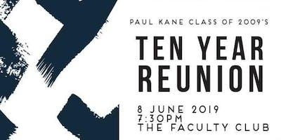 Paul Kane Class of 2009\