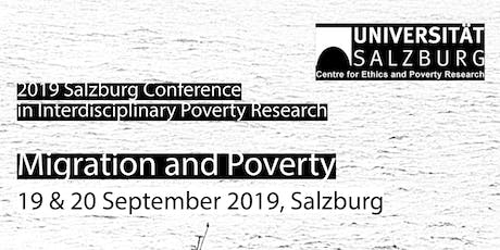 2019 Salzburg Conference in Interdisciplinary Poverty Research Tickets