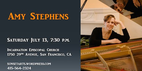 Amy Stephens (piano) in concert tickets