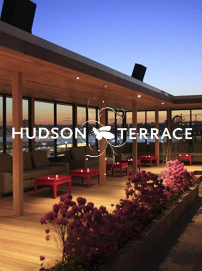 HOTTEST Rooftop Party in NY - Hudson Terrace