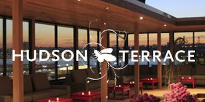 HOTTEST Rooftop Party in NY - Hudson Terrace - 10/26