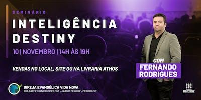 Seminário de Inteligência Destiny em Peruíbe - SP