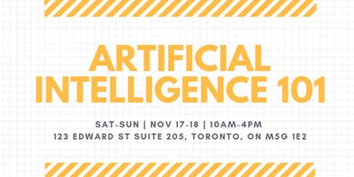 Artificial Intelligence 101 (High School Students Only Event)