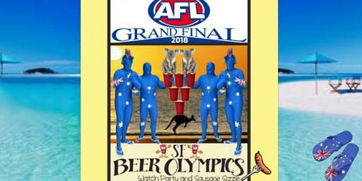 AFL Grand Final San Francisco Official 2019 Party! FREE w/Drink Purchase