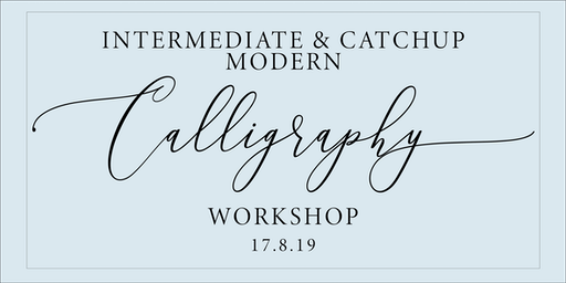 Intermediate Calligraphy workshop in Manchester