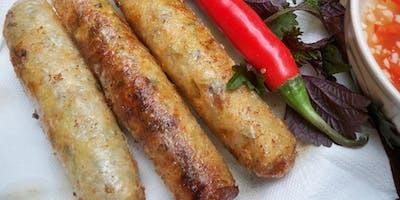 Atelier cuisine et échanges linguistiques : Nems Hanoï