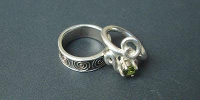 Metal Clay Rings