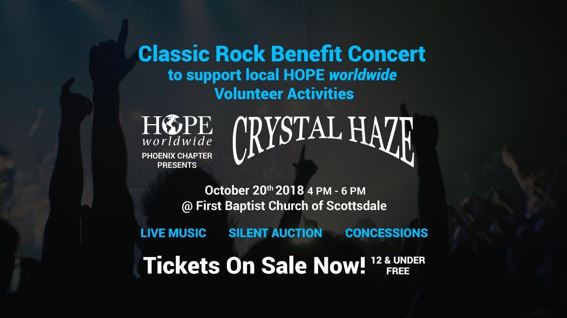 HOPE worldwide Phoenix Benefit Concert