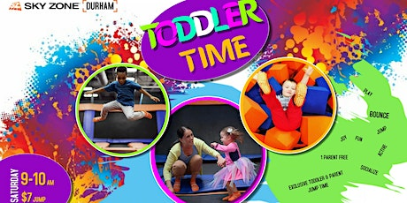 Exclusive jump time for Toddlers & Parents tickets
