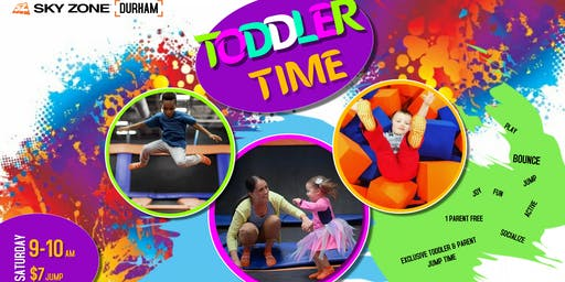 Exclusive jump time for Toddlers & Parents
