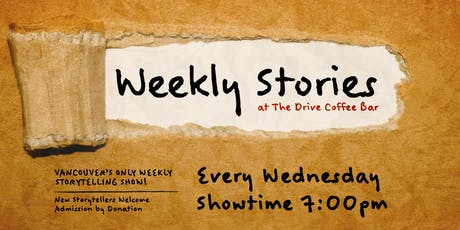 Weekly Stories at The Drive Coffee Bar tickets