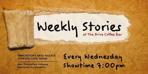 Weekly Stories at The Drive Coffee Bar
