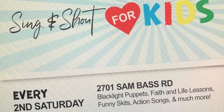 Sing & Shout for KIDS tickets