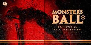 MONSTERS BALL 2018   Sat Oct 27   Nest
