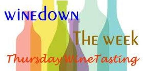 WINE-down Thursday tickets