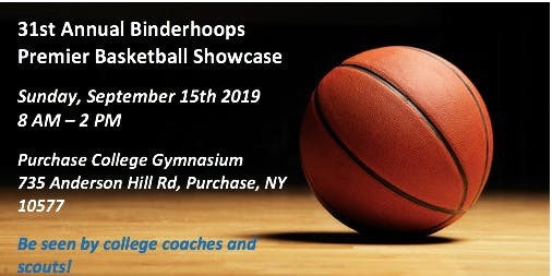 PLAYER REGISTRATION - 31ST ANNUAL BINDERHOOPS PREMIER BASKETBALL SHOWCASE