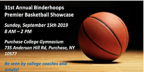 COACHES REGISTRATION -  31ST ANNUAL BINDERHOOPS PREMIER BASKETBALL SHOWCASE tickets