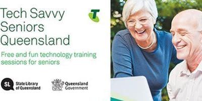 Tech Savvy Seniors - email help at the Gympie Library