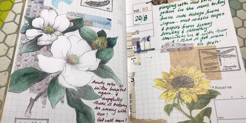 TN Gathering: Getting Started with Art Journaling