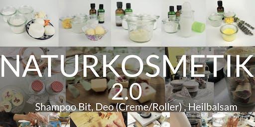Naturkosmetik Workshop 2.0 (Shampoo Bar, Deo, Balsam) / gesund & sauber