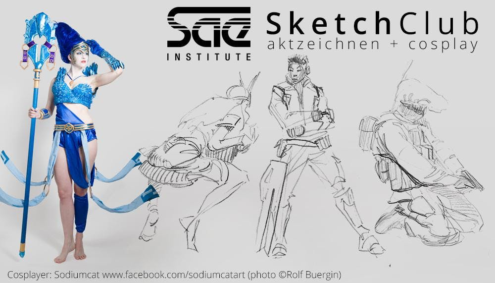 SAE SketchClub (Autumn Sessions) - Game Art & 3D Animation