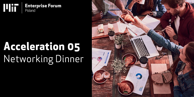 Mojo Picon : MIT Enterprise Forum Poland - 5th Edition Networking Dinner