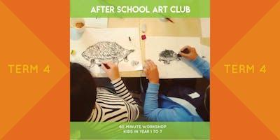 After School Art Club - Term 4