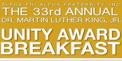 Alpha Onward & Upward Foundation, Inc. Presents: 2019 MLK, Jr. Unity Award Breakfast