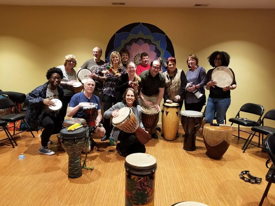 Community Drum Circle Oct. 19th at Green Heir