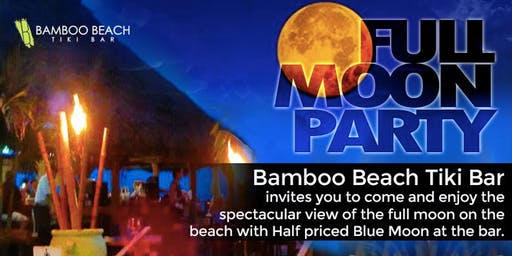 Monthly Full Moon Party on the Beach