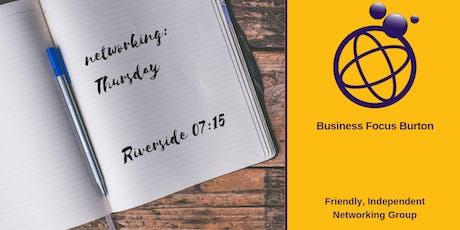 Business Focus Burton tickets