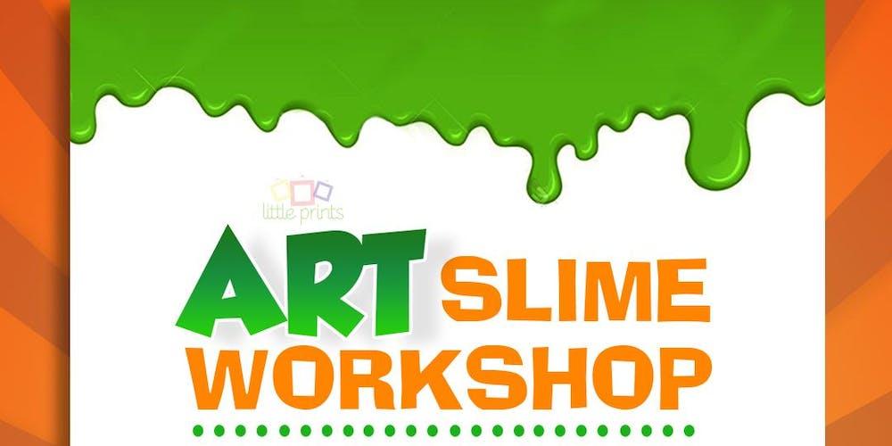 little prints art slime workshop tickets sun oct 14 2018 at 2 00