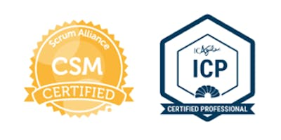 Certified ScrumMaster (CSM) / ICAgile Certified Professional (ICP)