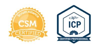 Certified ScrumMaster (CSM) / ICAgile Certified Professional (ICP)