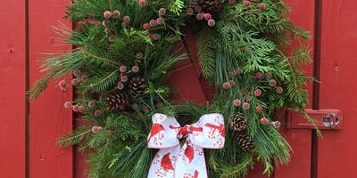 Holiday Wreath-Making Workshop with Snow Valley Farm
