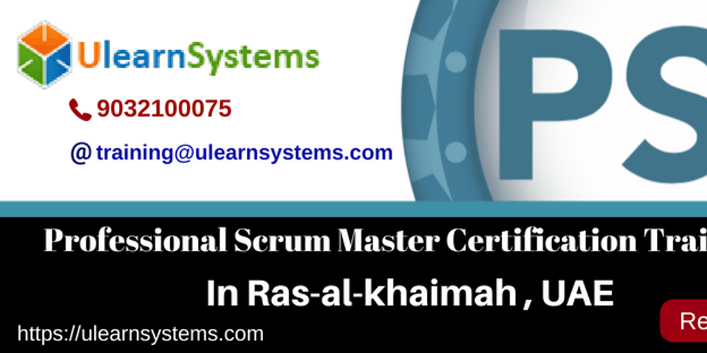 Professional Scrum Masterpsm Certification Training Course In Ras