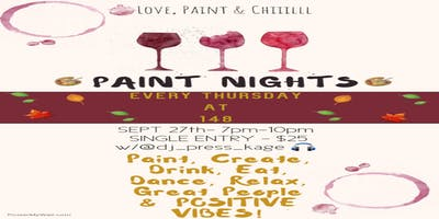 Love, Paint & CHIIILLL at 148