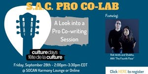 S.A.C. Pro Co-Lab - A Look into a Pro Co-writing...