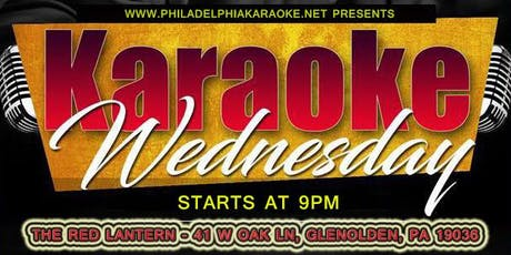 Wednesday Karaoke at The Red Lantern tickets