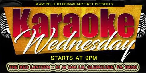 Wednesday Karaoke at The Red Lantern